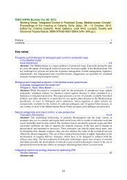Table of contents and Abstracts - IOBC-WPRS