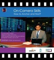 On-Camera Skills - Management Excellence Center