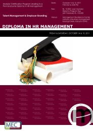 Talent Management & Employer Branding - Institute of Business ...