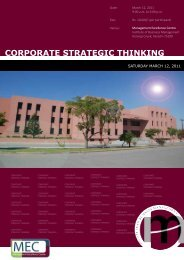 Corporate Strategic Thinking copy - Institute of Business Management