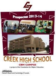 Creek High School - Institute of Business Management