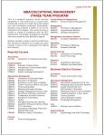 (four year) program - Institute of Business Management - Page 6