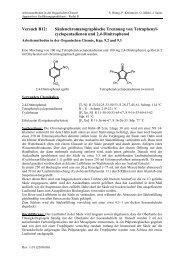 Säulenchromatographie (pdf)