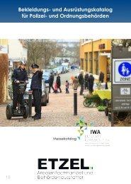 Bekleidungs- und Ausrüstungskatalog für Polizei- und Ordnungsbehörden