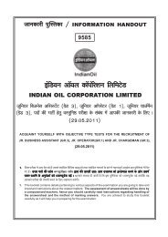 Financial Year - Indian Oil Corporation Limited