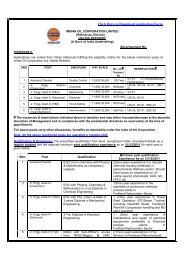 to Download application Form - Indian Oil Corporation Limited