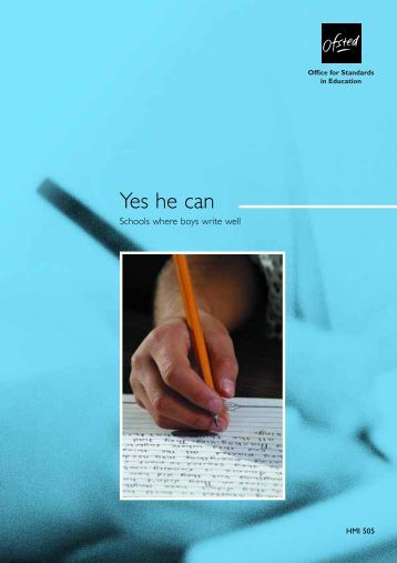 Yes he can Gill no pic - Institute of Education, University of London