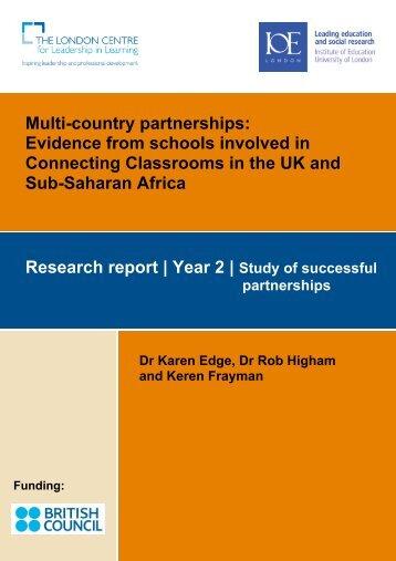 Final report (pdf) - Institute of Education, University of London