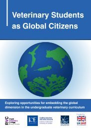 Veterinary Students as Global Citizens - The Royal Veterinary College