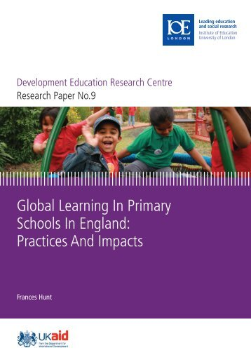 Global Learning In Primary Schools In England - Institute of ...