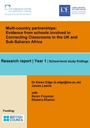 Case studies (pdf) - Institute of Education, University of London