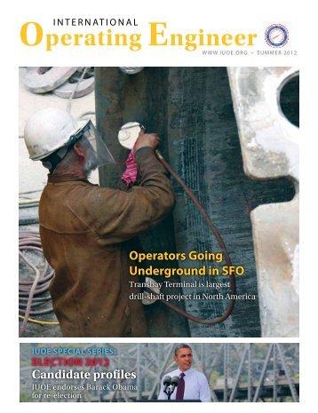 Operating Engineer - Summer 2012