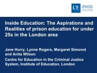 The Aspirations and Realities of prison education for under 25s in ...