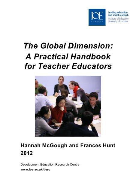 The Global Dimension: A Practical Handbook for Teacher Educators