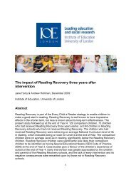 Full report - Institute of Education, University of London