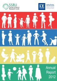 Annual Report 2012 (pdf) - Institute of Education, University of London