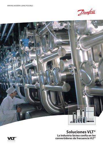 Soluciones VLT® La industria láctea confía en los ... - Danfoss