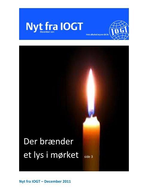 Nyt fra IOGT – December 2011