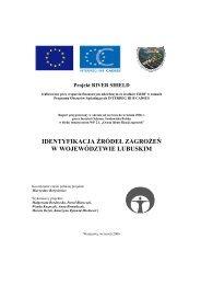 IDENTYFIKACJA RÓDE ZAGRO E W WOJEWÓDZTWIE LUBUSKIM