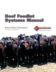 Beef Feedlot Systems Manual - Iowa State University Extension and ...