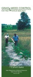 GRASS WEED CONTROL - Iowa Department of Natural Resources