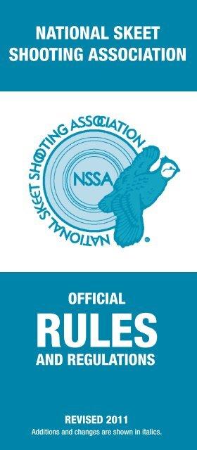 national skeet shooting association - Iowa Department of Natural ...