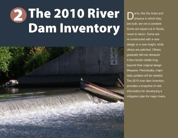 The 2010 River Dam Inventory - Iowa Department of Natural ...
