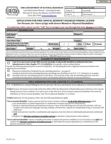non resident application for lifetime hunting and fishing