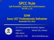 SPCC Rule Amendments: Streamlines Requirements for Regulated ...