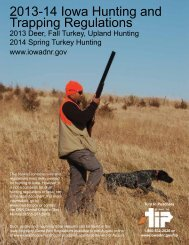 2012-13 Iowa Hunting And Trapping Regulations - Iowa Department ...