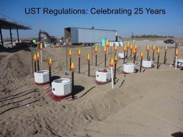 25 Years of UST Regulations