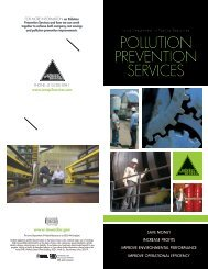 pollution prevention services - Iowa Department of Natural Resources