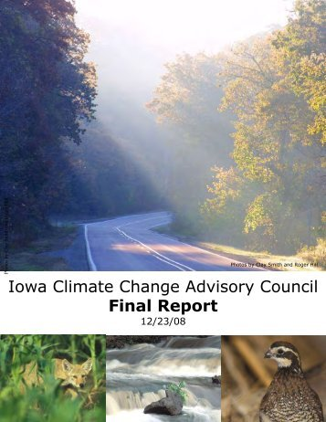 Iowa Climate Change Advisory Council Final Report