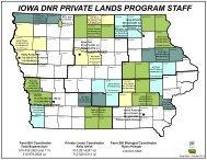 Private Lands Biologists