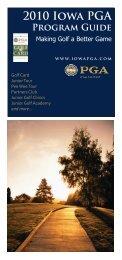 2010 Iowa PGA - Iowa Golf