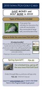 2010 Iowa PGA - Iowa Golf - Page 2