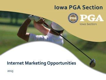 Iowa PGA Online Marketing Guide 2013.indd - Iowa Golf