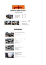 Fahrzeuge und Anhänger Web