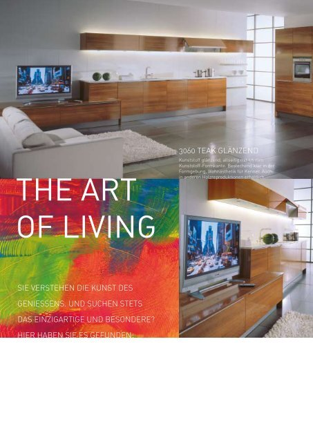 THE ART OF LIVING - Pille & Rohe