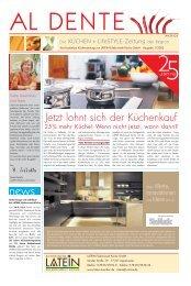 zum Download klicken (1.1 Mb) - Latein Erlebniswelt Küche GmbH