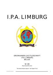 Uitgave nr. 186 - IPA Nederland