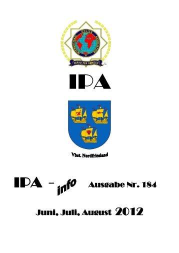 Ausgabe Nr. 184 Juni, Juli, August 2012 - Ipa-nordfriesland.de
