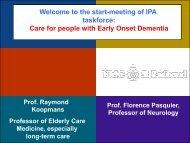 Raymond Koopmans - International Psychogeriatric Association