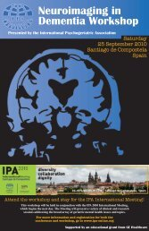 To download a pdf of the brochure - International Psychogeriatric ...