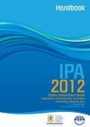 2012 International Meeting - International Psychogeriatric Association