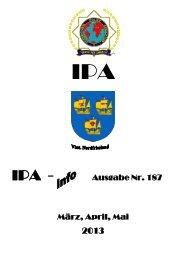 Ausgabe Nr. 187 März, April, Mai - IPA Nordfriesland
