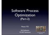 Software Process Optimization