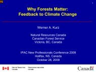 Feedback to Climate Change