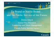 To Brand or Not to Brand… and the Public Service of the Future