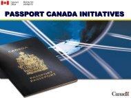 Michael O'Byrne : Passport Canda Initiatives